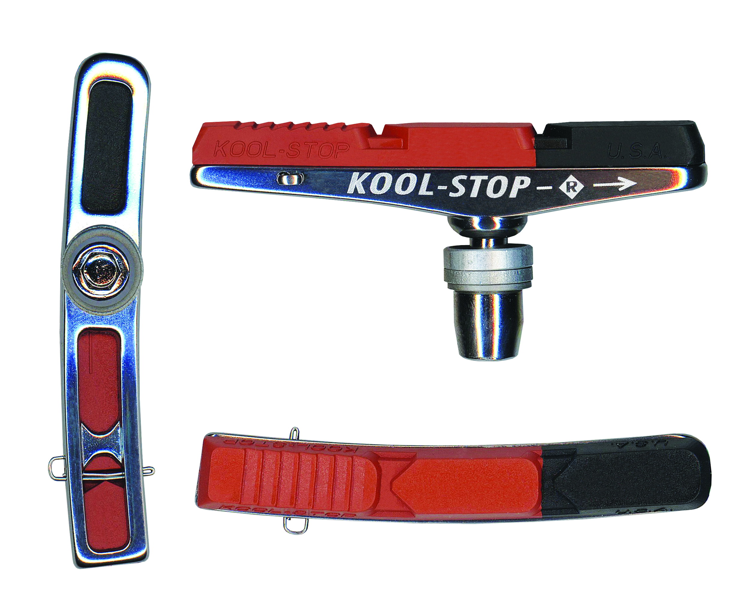 Dual Compound Kool-Stop V2 Replacement Brake Pad Insert